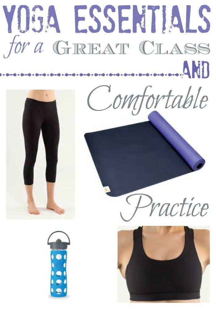 A few things you really need (and some yoga studio etiquette tips) and what you can skip buying for a yoga class