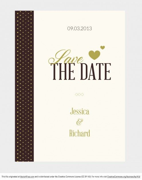 9 best vector wedding for free download images on Pinterest - create invitation card free download