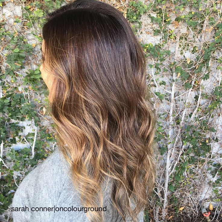 Sun kissed Ribbons part 3 #haircolor by #sarahconner #oncolourground #blowout / #style by @hair_byjoseph #highlights #sunkissedbrunette #naturallookinghaircolor #summertrends #longhair #summerhair #sombre (at Meche Salon Los Angeles)