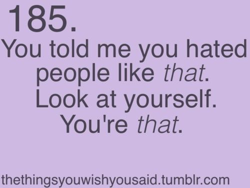 Double Standards In Relationships Quotes: 17 Best Quotes About Hypocrites On Pinterest