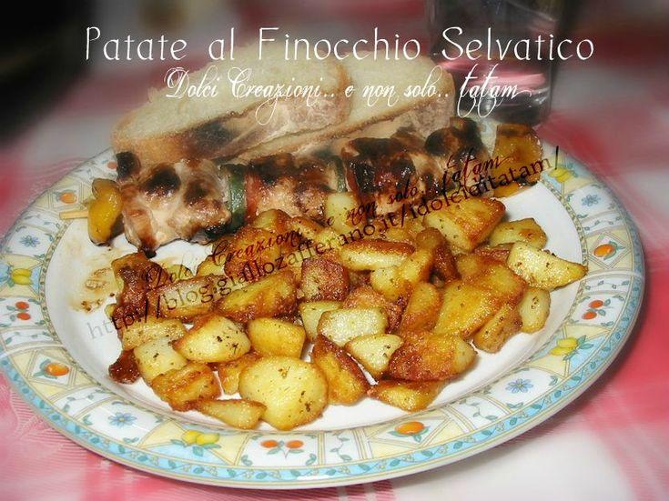 Patate Croccanti in Padella ai Fiori di Finocchi Selvatico | ricetta
