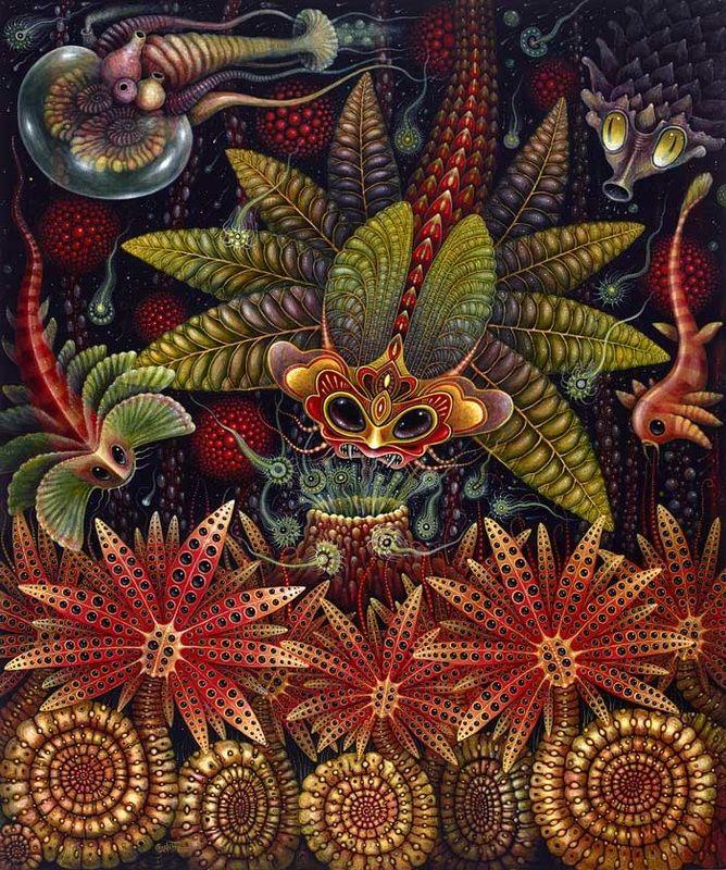Robert Steven Connet è un artista Californiano che trae le sue ispirazioni dalle forme biologiche, flora e fauna, micro e macro, dal panorama terrestre e quello oceanico, che trasforma creando nuovi...