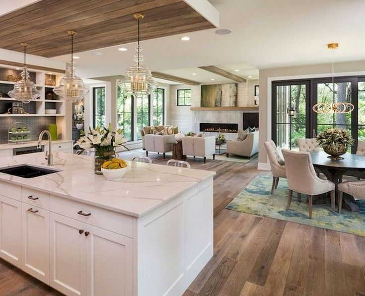 Stylish Farmhouse Kitchen Design Ideas To Bring Classic ...