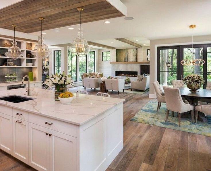 Stylish Farmhouse Kitchen Design Ideas To Bring Classic ...