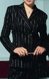 Is it out of style to wear a black pinstipe pant suit? - 4FashionAdvice