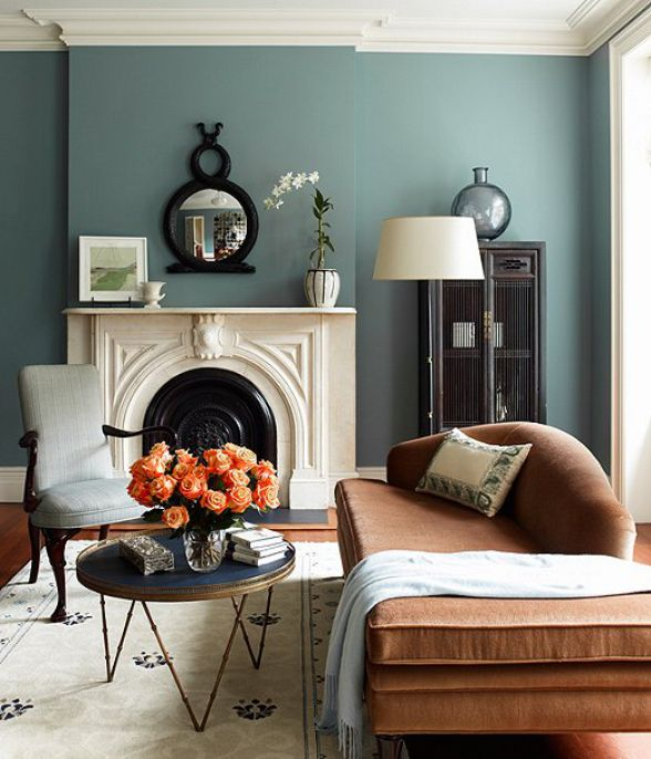 Living Room Paint Color Possibly Perfect Not Too Blue Or Green Not Too Dark