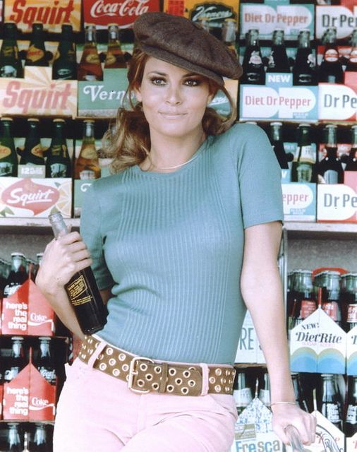 Raquel Welch by The Pie Shops Collection, via Flickr