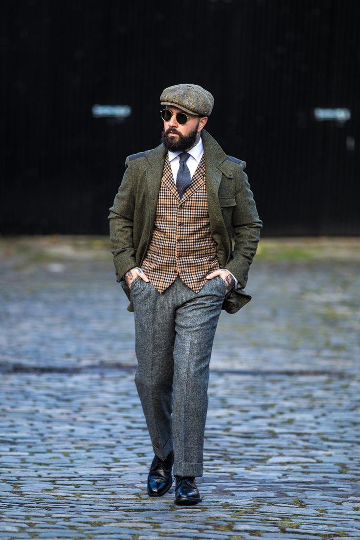 Modern day Peaky Blinders wearing Walker Slater