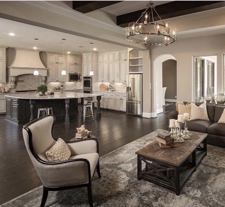 42 Open Concept Kitchen Living Room And Dining Room Floor: Best 20+ Open Floor Concept Ideas On Pinterest