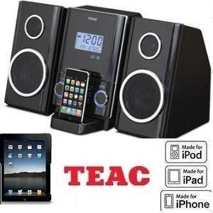 THE NEW TEAC CD-X70i --- MINI Hi-Fi SYSTEM w/IPOD/IPHONE DOCK W/Remote -- Micro Hi-Fi System made for MP3 CD disks-- speakers are base-reflex type two way stereo-- charges your iPod or iPhone. Teac Micro Hi-Fi System /AM/FM stereo tuner with AUX input. Docking Station for iPod/iPhone /Digital clock with alarm and sleep timer. Includes Remote Control /Dock that plays and charges your iPod or iPhone. Bass Reflex Type 2 Way Stereo Speakers. Music CD and MP3 Disc Playable /Perfect for an…