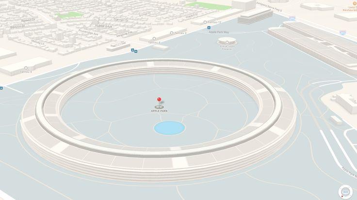 Apple Mapy teraz obsahujú 3D modely nového Apple Parku  https://www.macblog.sk/2017/apple-mapy-teraz-obsahuju-3d-modely-noveho-apple-parku?utm_content=buffer985e1&utm_medium=social&utm_source=pinterest.com&utm_campaign=buffer