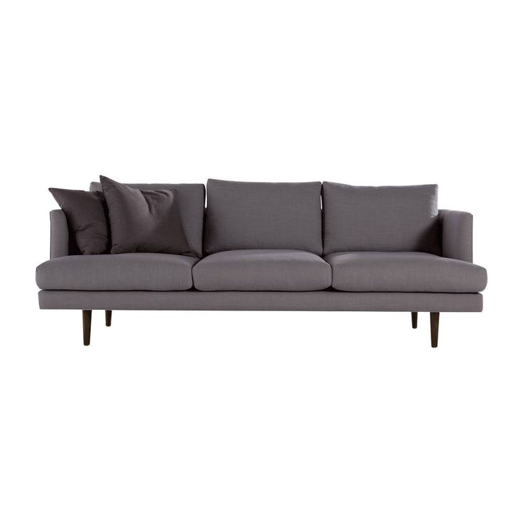 A plush designer sofa, with quality finishes and materials. This piece is timeless and with great quality will last for years to come.