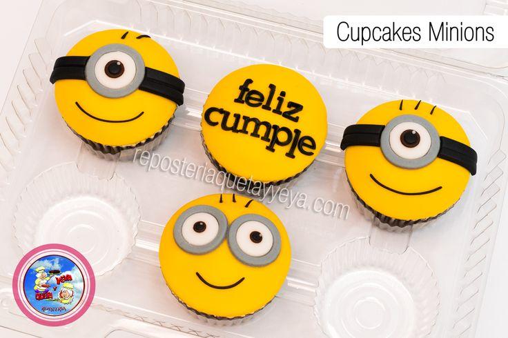 Cupcakes Minions, Minions Cupcakes