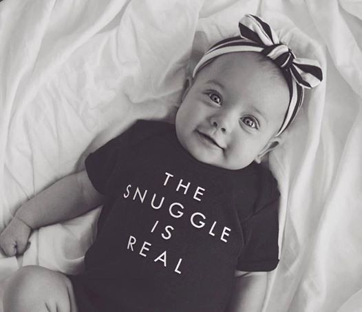 Hey, I found this really awesome Etsy listing at https://www.etsy.com/listing/453679334/the-snuggle-is-real-onesie
