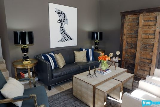Annika Table Lamp by Mary McDonald, as seen on Interior Therapy with Jeff Lewis on @Bravo TV: Eclectic Rooms, Dare Seasons, Living Rooms, Lewis Photos, Interiors Design, Bravo Tv, Interiors Therapy, Tables Lamps, Lewis Interiors