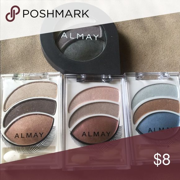 Four different ALMAY EYESHADOWS Four unused ALMAY EYESHADOWS Almay Makeup Eyeshadow