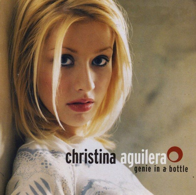 """Christina Aguilera, """"Genie In A Bottle"""" 