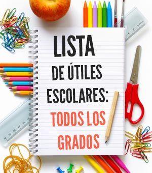 Lista de útiles escolares: mejores precios y recomendaciones para empezar el año escolar. Ahorra dinero al comprar solo lo que necesitas en vuelta al cole