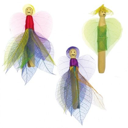 Skeleton Leaf Dollies - CleverPatch