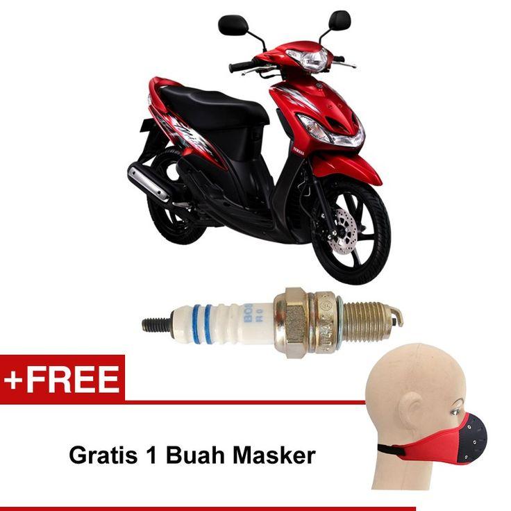 Bosch Busi Motor Matic Yamaha Mio UR4AC (2 Pcs) 0242050004 - Free Masker  Kuat & Tahan Lama, Standard Pabrikan (OE like), Tidak Cepat Kering, Busi Berkualitas ORIGINAL dari BOSCH  http://klikonderdil.com/busi-motor/1217-bosch-busi-motor-matic-yamaha-mio-ur4ac-2-pcs-0242050004-free-masker.html  #bosch #busi #busimotor #busiterbaik #yamahamio