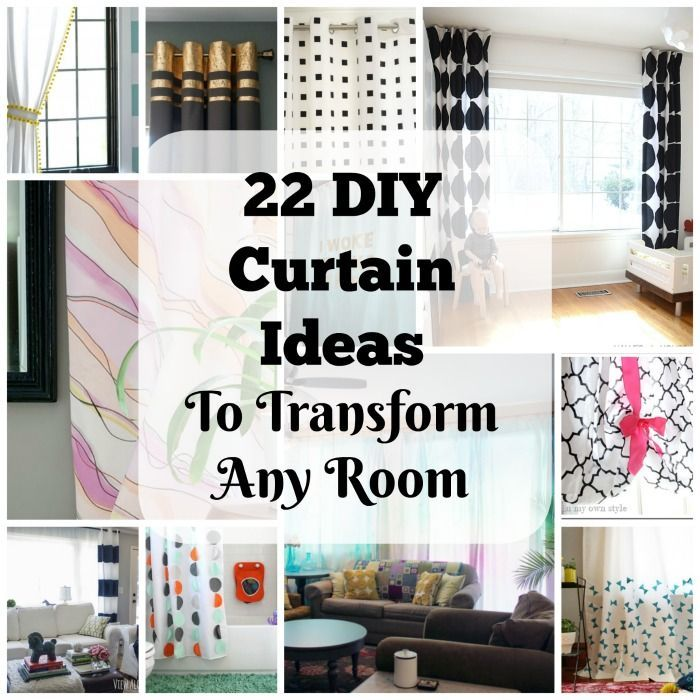 22 Elegant And Simple Diy Curtain Ideas That Will Transform Any