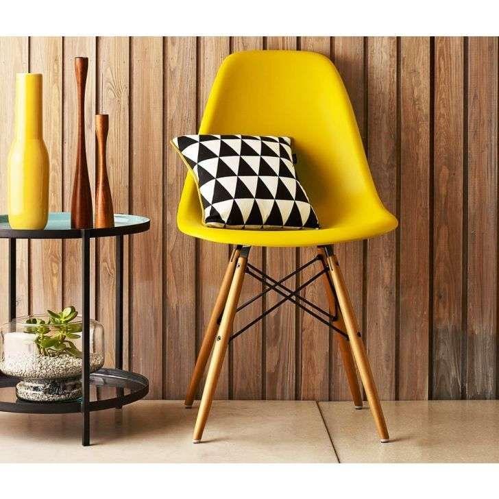 Cadeira Eames DSW Amarelo