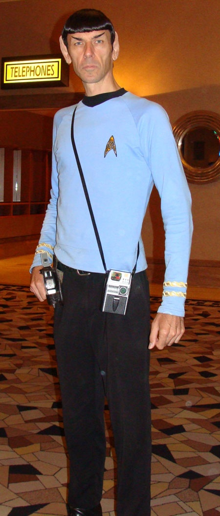 This looks so spot-on that it's scary. Spock Cosplay Las Vegas 2012 Star Trek Convention