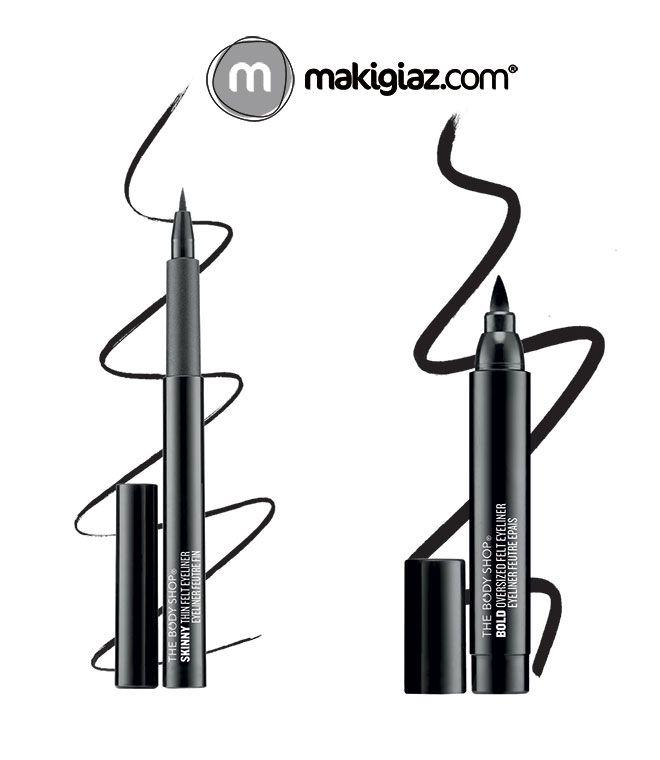 The Body Shop offers two different kind of eyeliners to make your life easier…  Greek Article http://makigiaz.com/blog/body-shop-felt-eyeliner/  English Article http://makigiaz.com/blog/body-shop-felt-eyeliner-en/