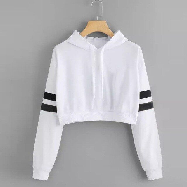 Cat ear casual comfort solid long sleeve hoodie sweatshirt hooded pullover tops roupas – Sophia's chic outfits
