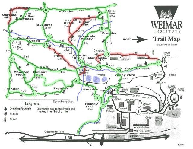 Weimar Institute Map