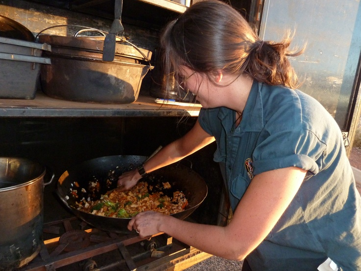 Alison Moore for sure! Cooking away at sunset :)