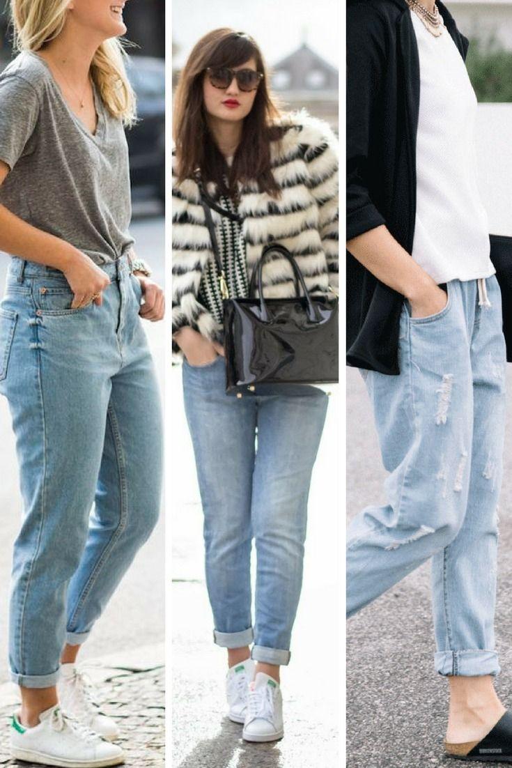 Comment porter le jean boyfriend   10 idées trouvées sur Pinterest   Fashion    Pinterest   Boyfriend Jeans, Jeans and Denim jeans 06c741893645