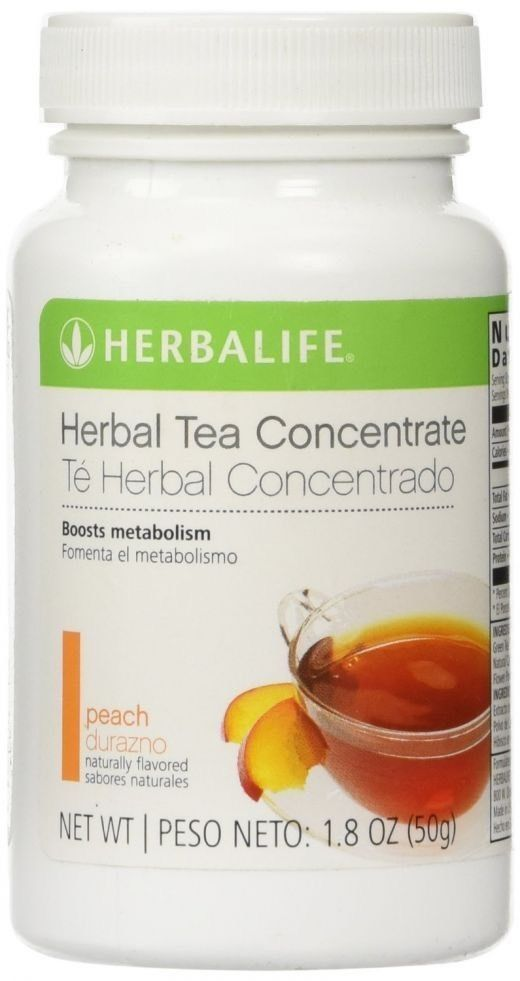 Herbalife Herbal Tea Concentrate 100g Peach Flavour