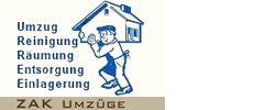 Umzug, Transport, Zofingen, Reinigung, Einlagerung, Zürich, ZAK Umzüge Transporte