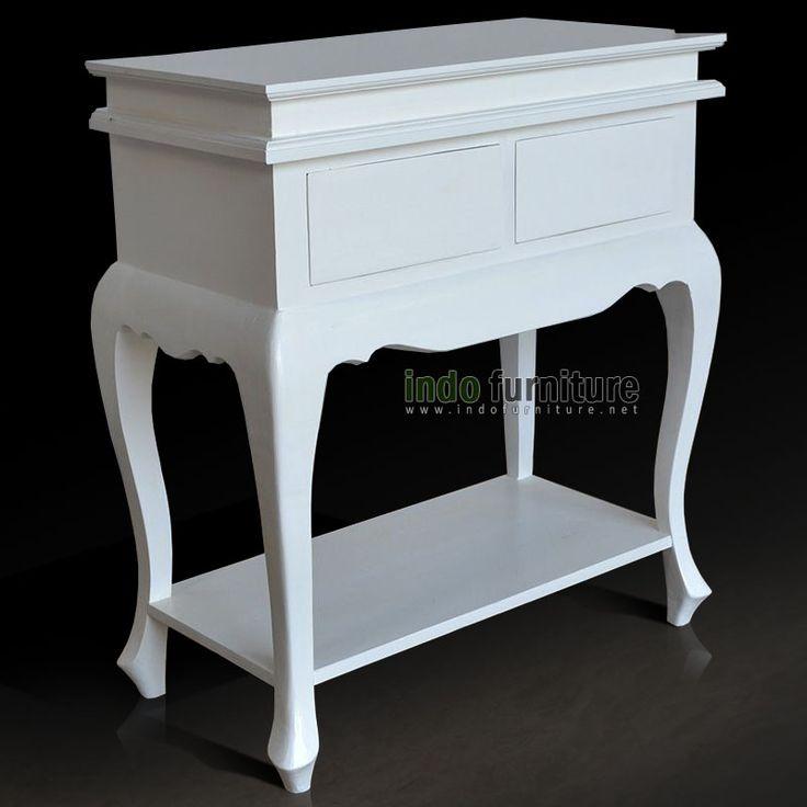 Meja Konsul Putih   Indo Furniture