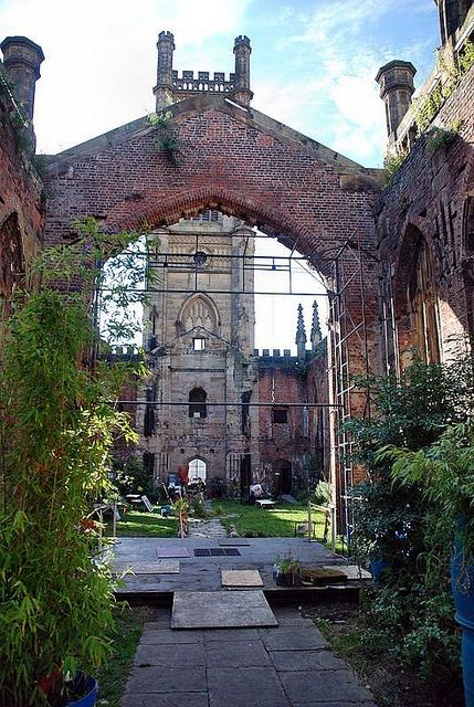 Inside St Lukes Church Liverpool bombed in 1941 by floato, via Flickr