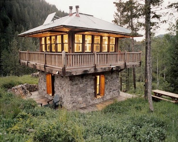 Beau Fire Lookout Homes And Tiny Houses. TowersMountain CabinsMountain ...