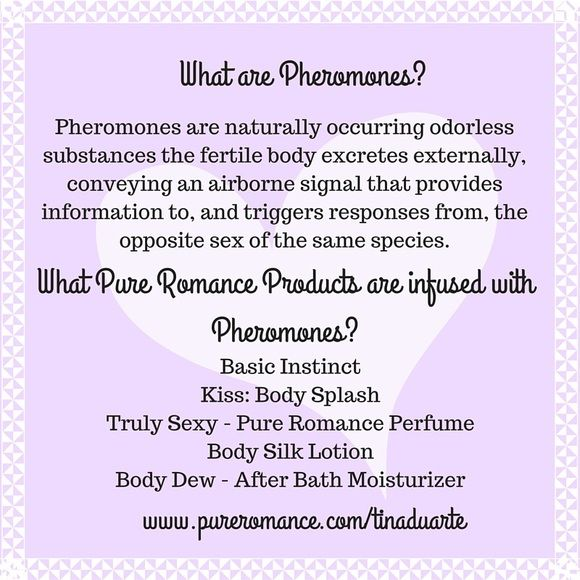 Feel Sexy with Pheromones Pure romance offers several products infused with pheromones. My favorite is Basic Instinct - it's like a roller ball of perfume that smells different on each person who wears it  Seeing this on Pinterest but don't have a Poshmark? No worries, download the Poshmark Mobile App and use invite code PKMDW to get $10 towards your first purchase! Other
