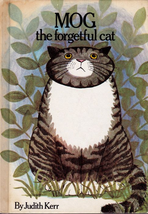 vintage kids book Mog the Forgetful Cat by OnceUponABookshop, $5.00