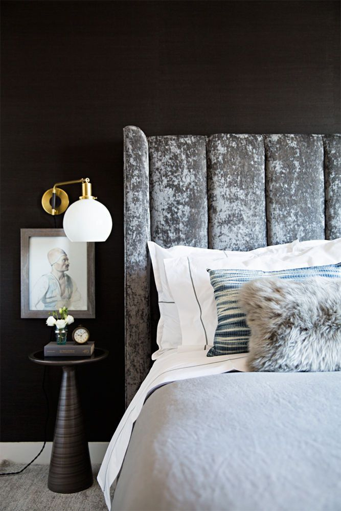 how to style dark bedroom walls tips paint color guide condo rh pinterest com