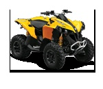 Can Am Renegade 1000...probably could mount wings to this bad boy and fly away. How fast are we trying to go through the woods again...120mph...sounds good to me.