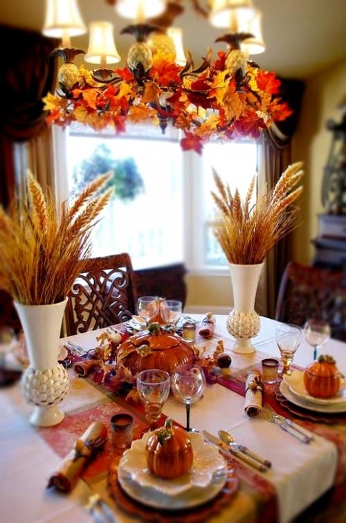 Fall Table Decor Halloween Pinterest Beautiful