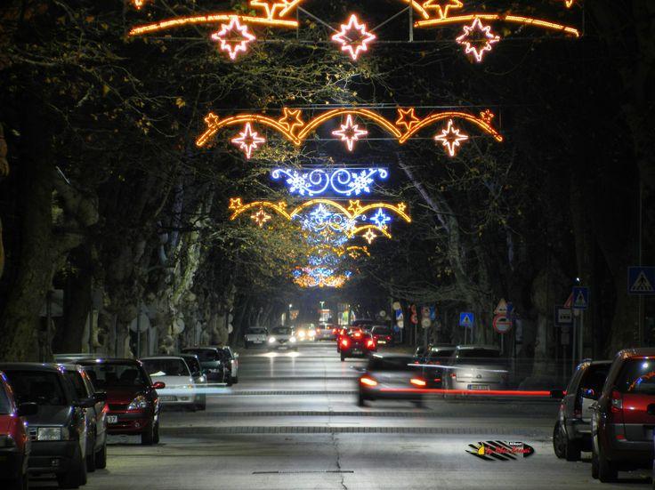 Before Christmas in my city, Kiskunfelegyhaza, Hungary, Nikon Coolpix L310, 71.2mm, 1s, ISO100, f/5.7, HDR-Art photography, 201612101737