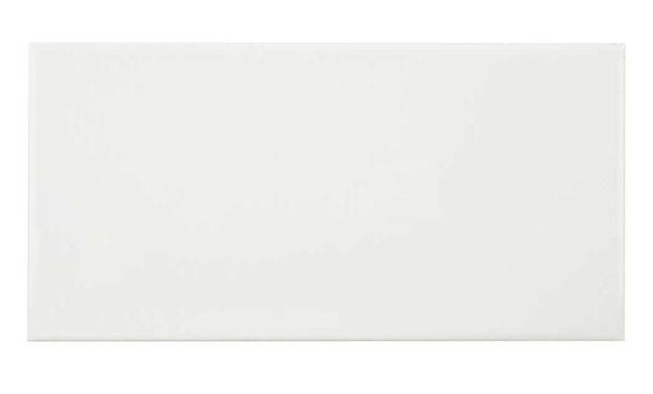 Keraminės sienų plytelės STANDART WHITE, 20 x 30 cm