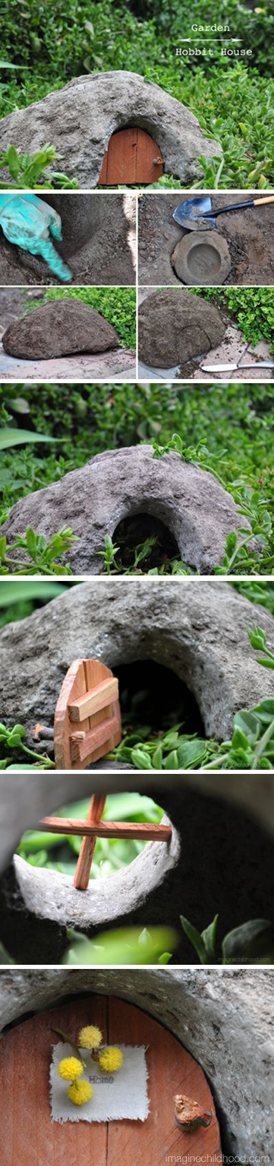 Garden Hobbit House Tutorial