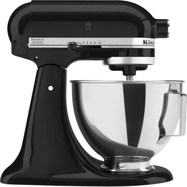 KitchenAid Tilt Head Stand Mixer   Onyx Black (Brand New Sealed Just In  Wrong Color Box Packaged By Manufacturer)