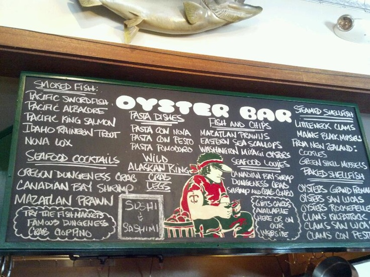 92 best san francisco bay area images on pinterest bay for San francisco fish market