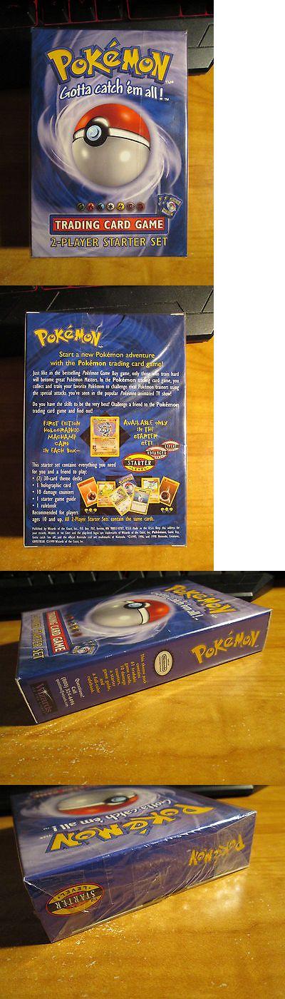 Pok mon Complete Sets 104046: Sealed Complete Pokemon 2 Player Starter Card Set Theme Deck Base Machamp 1St Ed -> BUY IT NOW ONLY: $69.99 on eBay!