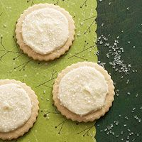 Eggnog-Frosted Nutmeg Sugar Cookies Recipe