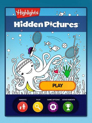 Les meilleurs jeux de cache-cache et d'exploration visuelle pour les enfants | DeclicKids, applis enfants - catalogue critique d'applications iPad iPhone Android Web